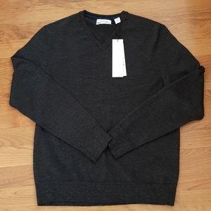 NWT Calvin Klein The Extra Fine Merino Sweater